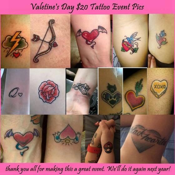 20 Tattoo Events